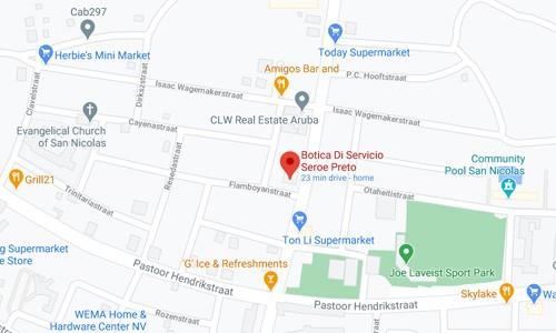 Botica di Servicio Seroe Preto